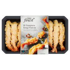 Tesco Finest 10 Tempura King Prawns 175G