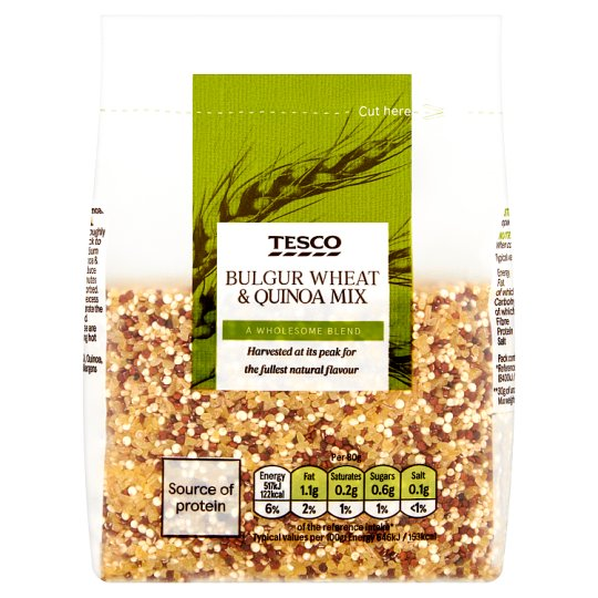 Tesco Bulgur Wheat And Quinoa Mix 300G