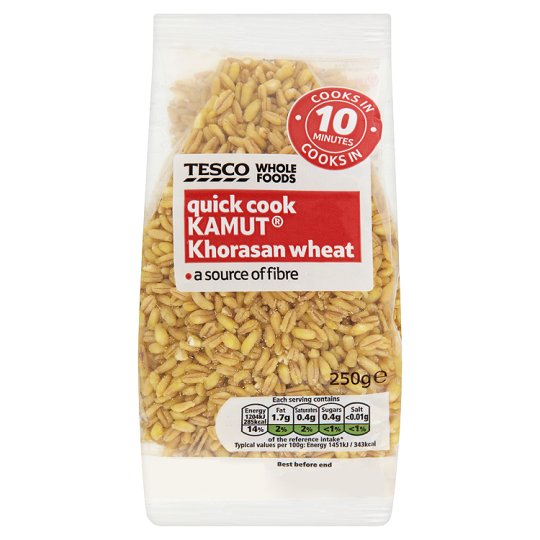 Tesco Wholefoods Quick Cook Kamut 250G