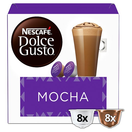 nescafe dolce gusto mocha coffee pods 16 capsules groceries tesco groceries. Black Bedroom Furniture Sets. Home Design Ideas