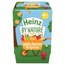 Heinz Apple Banana Apricot 2X100g