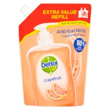 Dettol Pouches Refill Grapefruit 500Ml