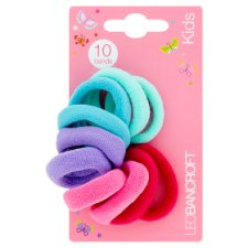 Leo Bancroft Kids Soft Bands Aqua Mix 10 Pack