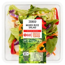 Tesco Mixed Rice Salad 215G