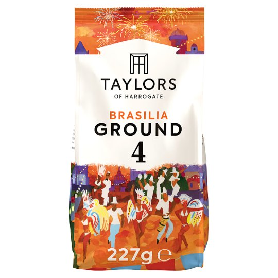 Taylors Cafe Brasilia Ground Coffee 227G