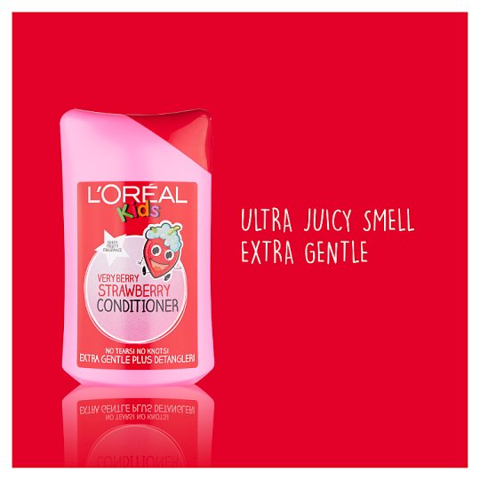 L'oreal Kids Berry Strawberry Conditioner 250Ml