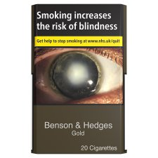Benson And Hedges Gold 20 Pack