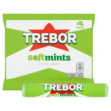 image 2 of Trebor Softmints Peppermint Mints 4 Pack 179G