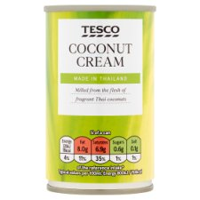 Tesco Coconut Cream 160Ml