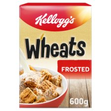 Kelloggs Frosted Wheats Cereal 600G