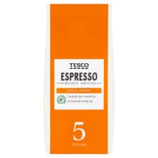 Tesco Espresso Ground Coffee 227G