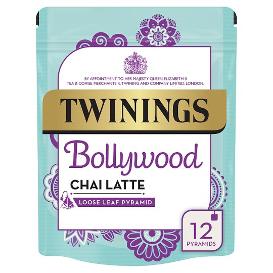 Twinings Latte Bollywood Chai 12 Tea Bags 30G