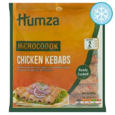 Humza Chicken Seeth Kebab Microwave 600G