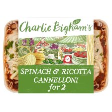 Charlie Bigham's Spinach Ricotta Cannelloni 660G