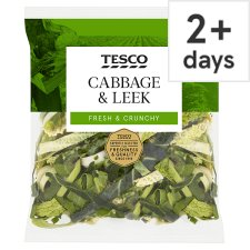 Tesco Cabbage And Leek (C)
