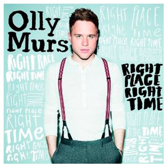 Olly Murs Right Place Right Time Cd