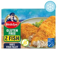 Birds Eye Gluten Free Breaded Fish Fillets 250G