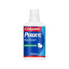 Colgate Peroxyl Mouthwash 300Ml