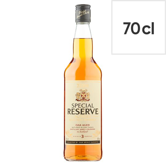 Tesco Special Reserve Scotch Whisky 70Cl