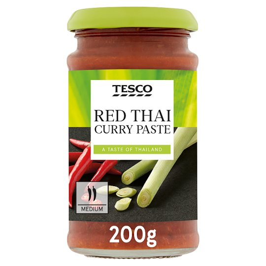 Tesco Red Thai Curry Paste 200G