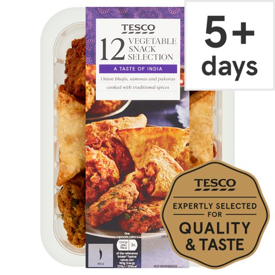 Tesco 12 Indian Selection 320G