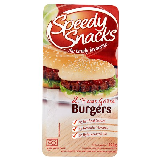 Speedy Snacks Beef Burger 220G
