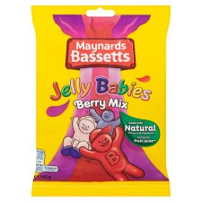 Maynardsbassetts Jelly Babies Berry Mix 165