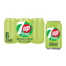 7 Up Diet 6 X 330 Ml