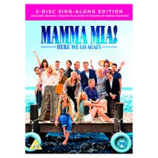 Mamma Mia: Here We Go Again! Dvd