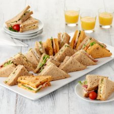 Tesco E/Etrning Healthy Living Sandwich Platter 20S