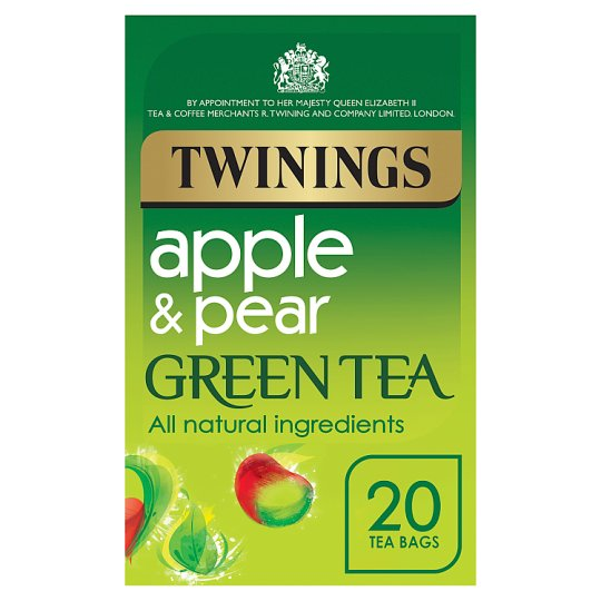 Twinings Pear And Apple Green Tea Tea Bags 20S 50G