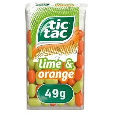 Tic Tac Lime And Orange 49G