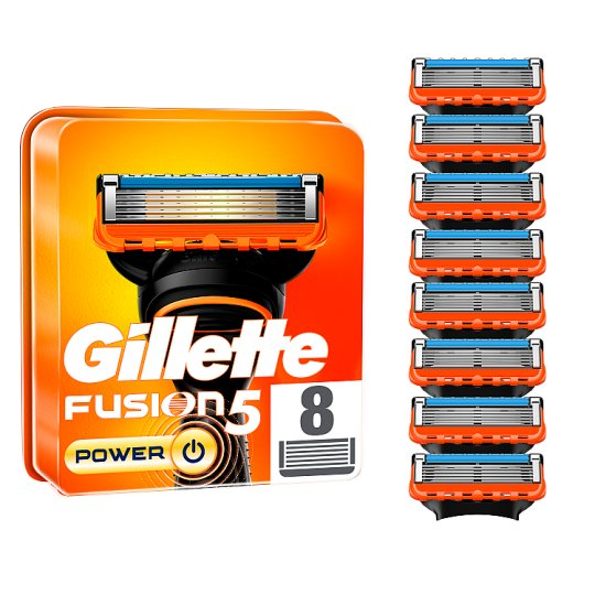 Gillette Fusion Power Razor Blades Refill 8 Pack