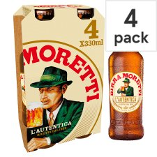 image 1 of Birra Moretti Lager 4X330ml