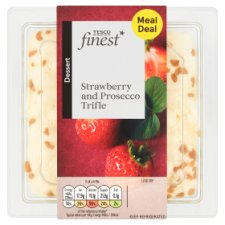 Tesco Finest Strawberry And Prosecco Trifle 250G