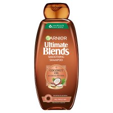 image 1 of Garnier Ultimate Blends Coconut Oil Shampoo Frizzy Hair 360Ml