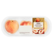 Tesco Supersweet White Flesh Peach Minimum 3 Pack