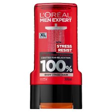 L'oreal Men Stress Resist Shower Gel 300Ml