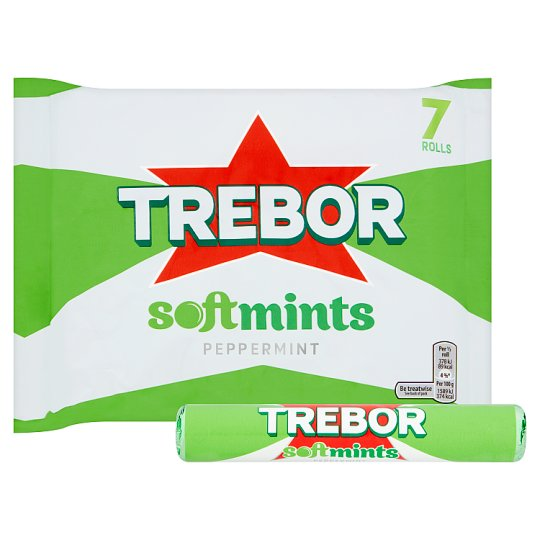 image 1 of Trebor Softmints Peppermint Mints 7 Pack 314G