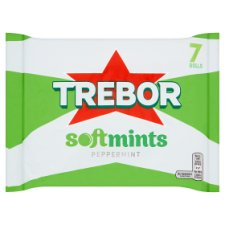 image 2 of Trebor Softmints Peppermint Mints 7 Pack 314G