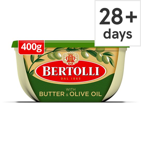 Bertolli With Butter Spread 400G