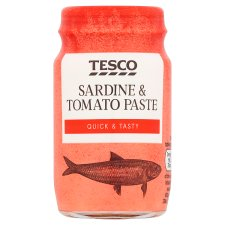 Tesco Sardine And Tomato Paste 75G