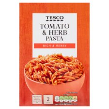 Tesco Pasta Tomato And Herb 120G