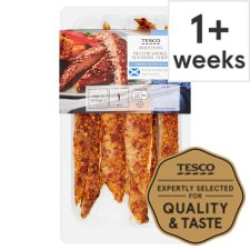 Tesco Piri Piri Smoked Mackerel Strips 200G