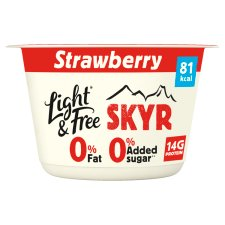 Light And Free Skyr Strawberry 150G