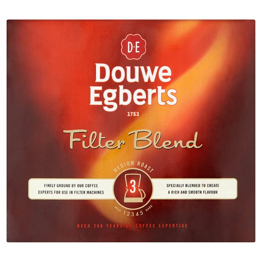 Douwe Egberts Filter Blend Ground Coffee 2X250g