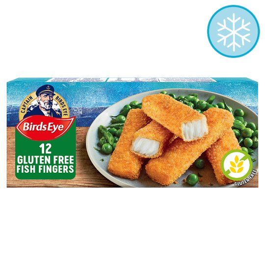 Birds Eye 12 Gluten Free Fish Finger 360G