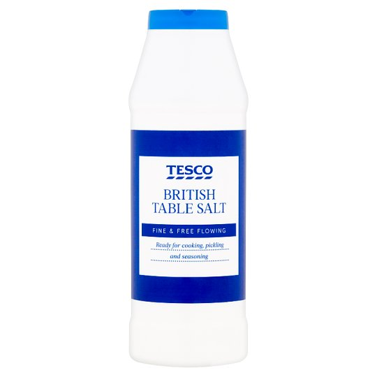 Tesco Table Salt 750G