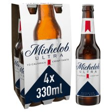 Michelob Ultra Lager 4X330ml Bottle