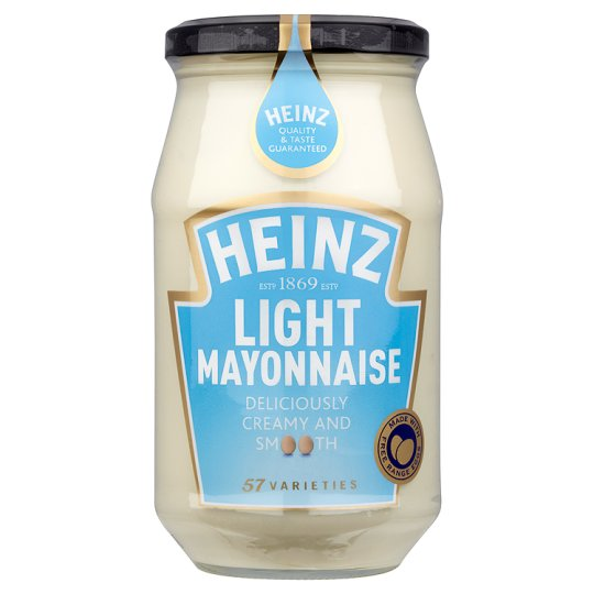The gallery for --> Heinz Mayonnaise